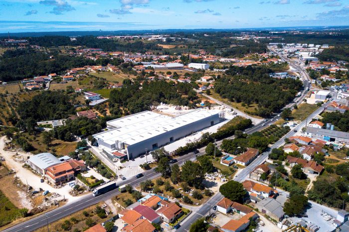 Aerial View from the LSI Stone portuguese factory