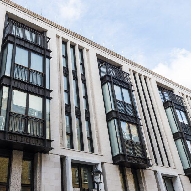 Portuguese Natural Limestone facade in London